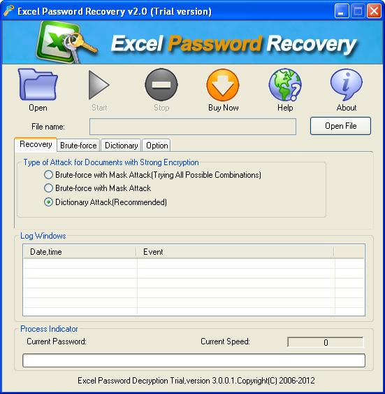 how to break excel password